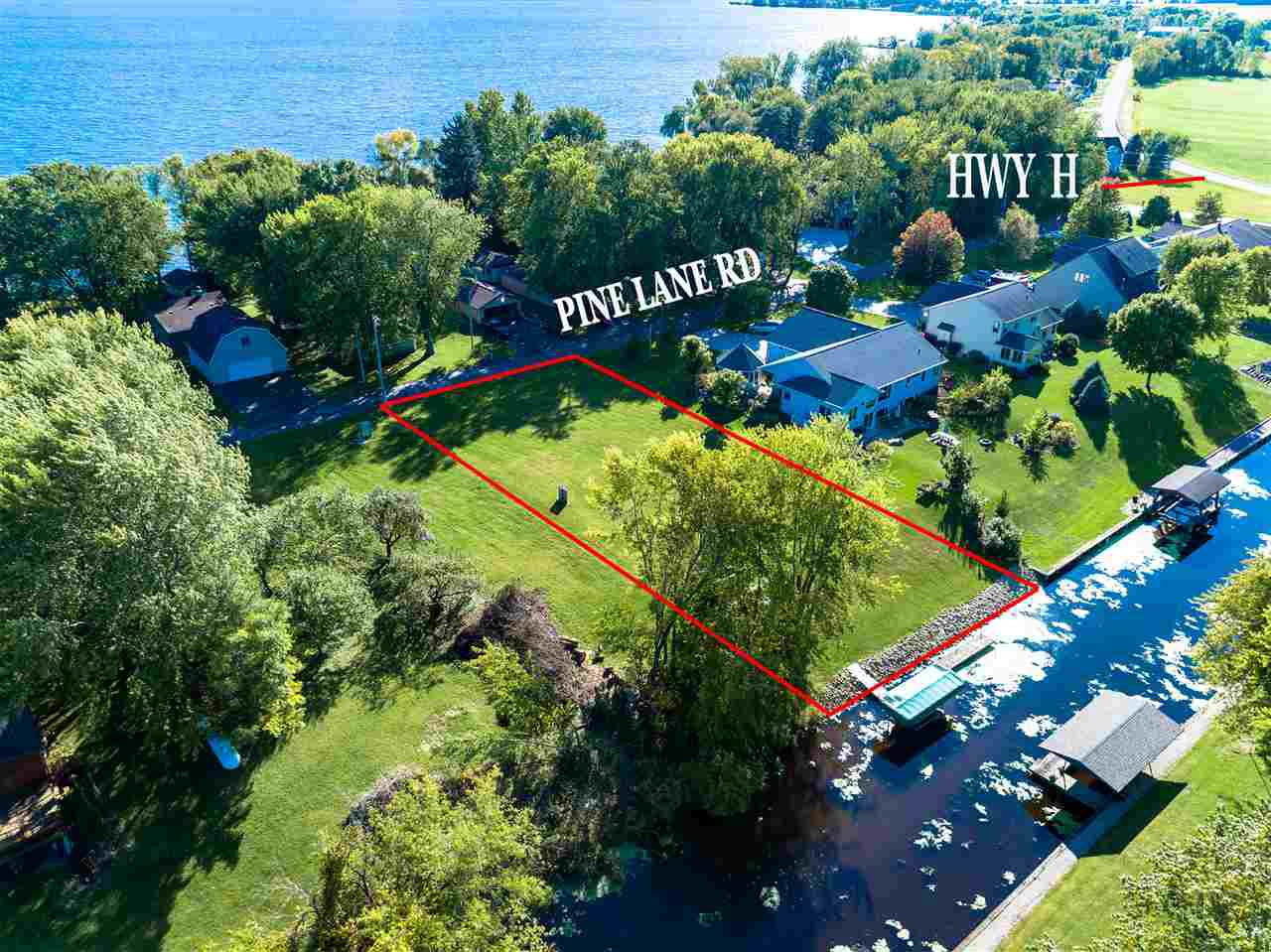 View Vacant Land For Sale at PINE LANE, Fremont, WI