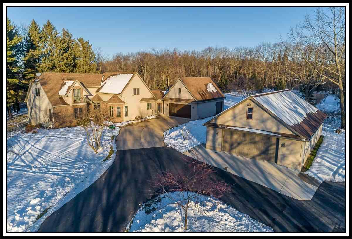 View Single-Family Home For Sale at N5202 ERINWOOD ROAD, New London, WI