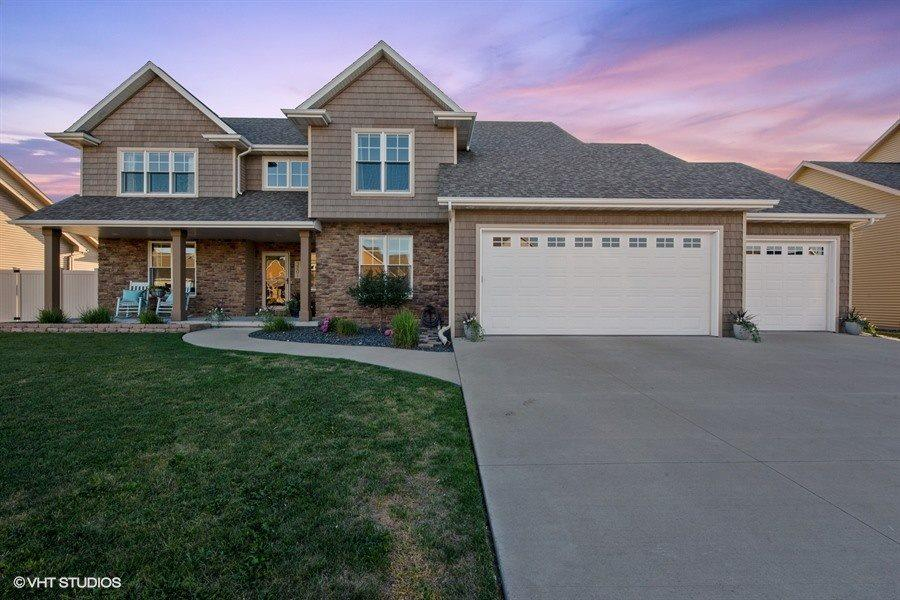 View Single-Family Home For Sale at 3201 S TAHOE LANE, Appleton, WI