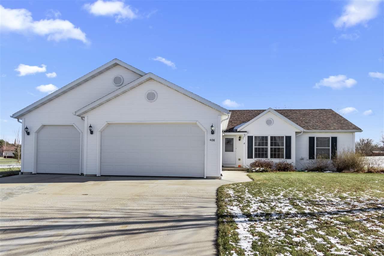 View Single-Family Home For Sale at 408 HIGH RIDGE LANE, Black Creek, WI