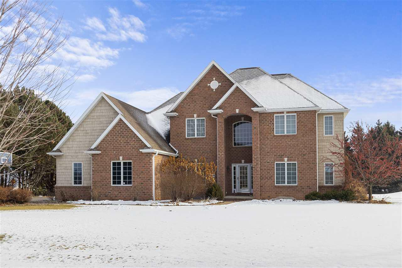 View Single-Family Home For Sale at N3292 FEATHER RIDGE DRIVE, Appleton, WI