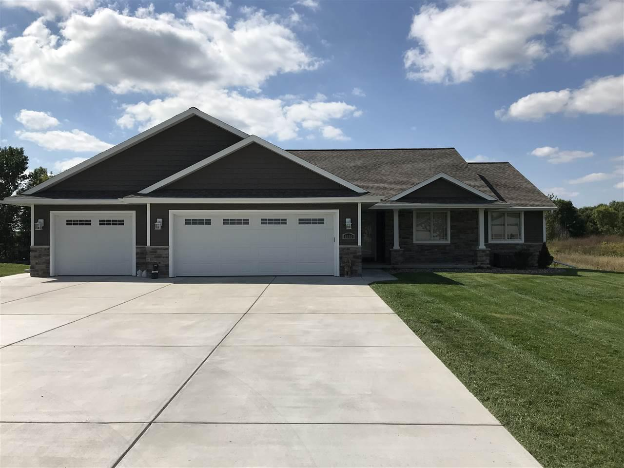 View Single-Family Home For Sale at 6690 ELMRO ROAD, Greenleaf, WI