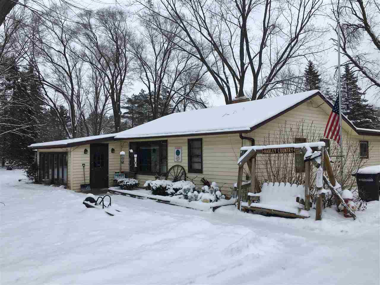 View Single-Family Home For Sale at 4580 N OVERLAND ROAD, Oneida, WI
