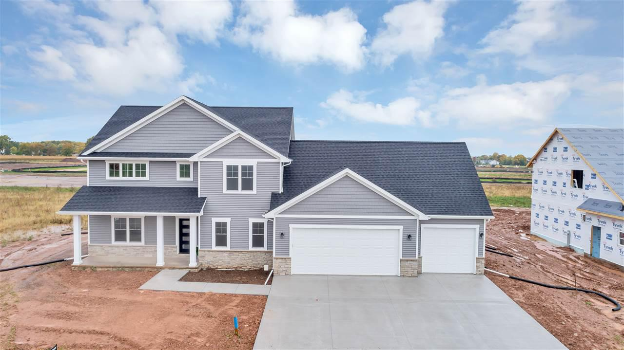 View Single-Family Home For Sale at N9339 TOUCHDOWN DRIVE, Appleton, WI