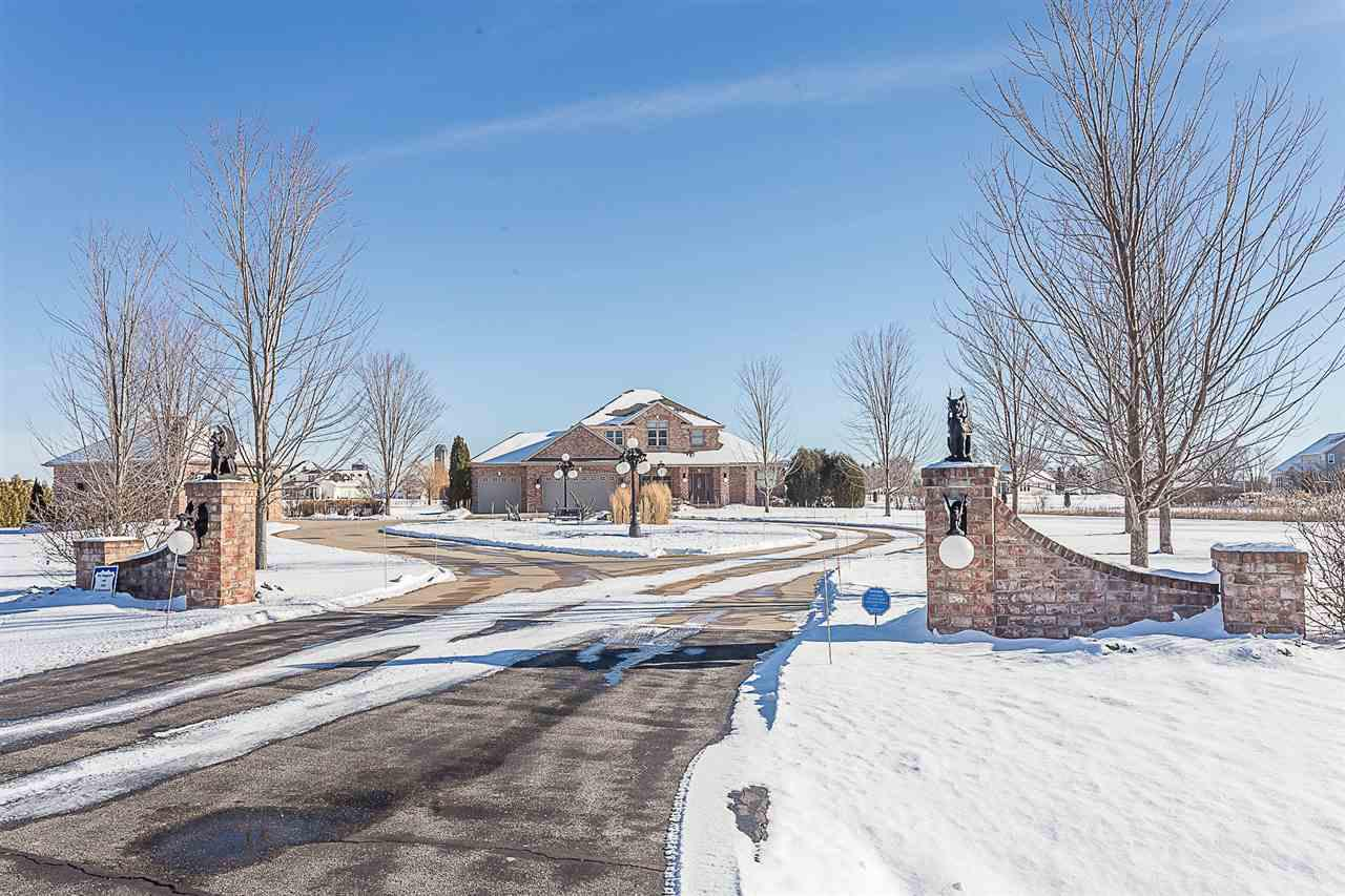 View Single-Family Home For Sale at N2430 ARTESIAN WAY, Kaukauna, WI