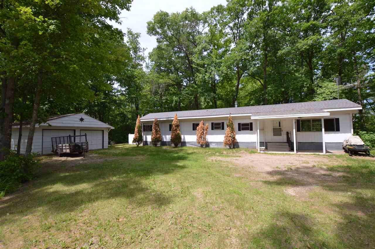 View Single-Family Home For Sale at 11080 W 18TH ROAD, Pound, WI
