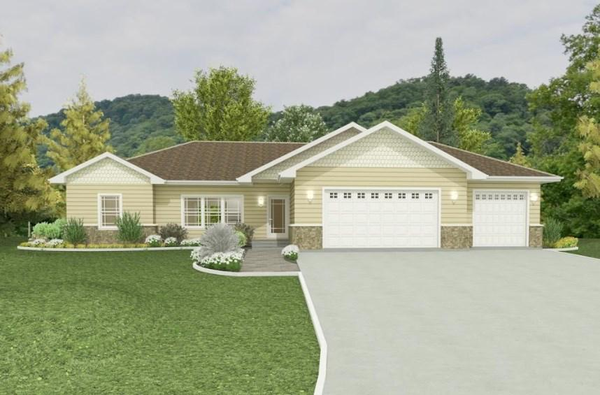 View Single-Family Home For Sale at 5870 TOPAZ COURT, New Franken, WI