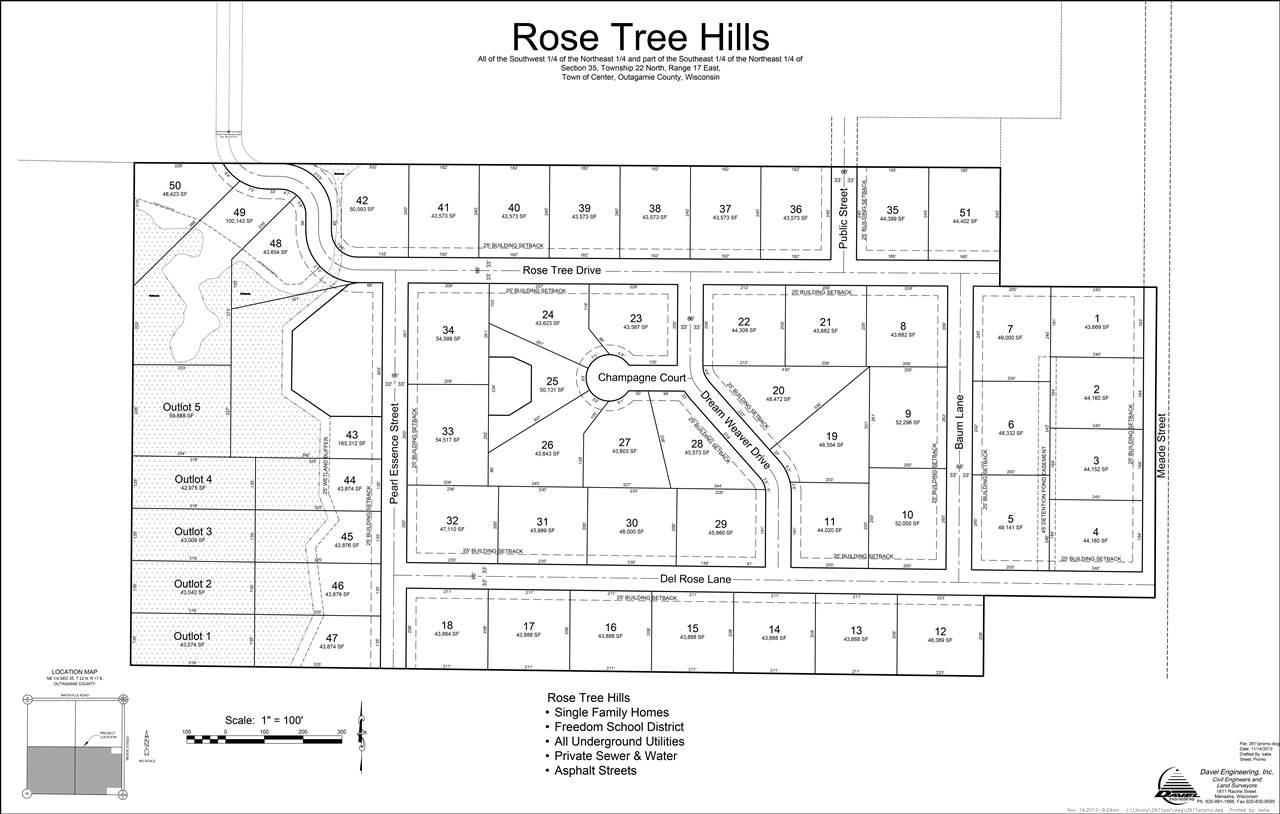 View Vacant Land For Sale at ROSE TREE DRIVE, Appleton, WI