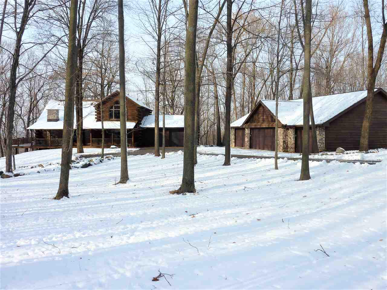View Single-Family Home For Sale at W8716 SPRING ROAD, Hortonville, WI