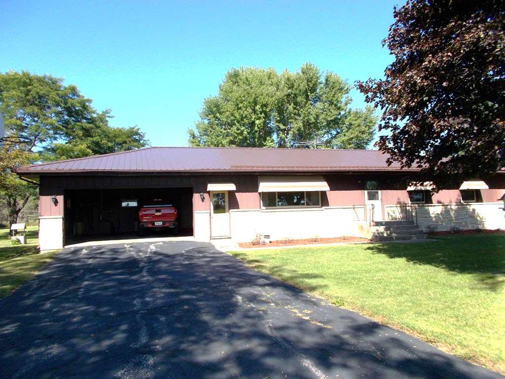 View Single-Family Home For Sale at W6776 TWO MILE ROAD, Porterfield, WI