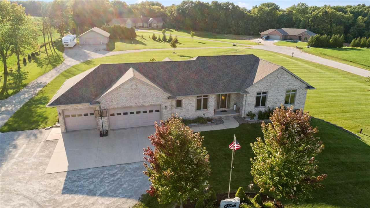 View Single-Family Home For Sale at N7103 HWY AB, Luxemburg, WI