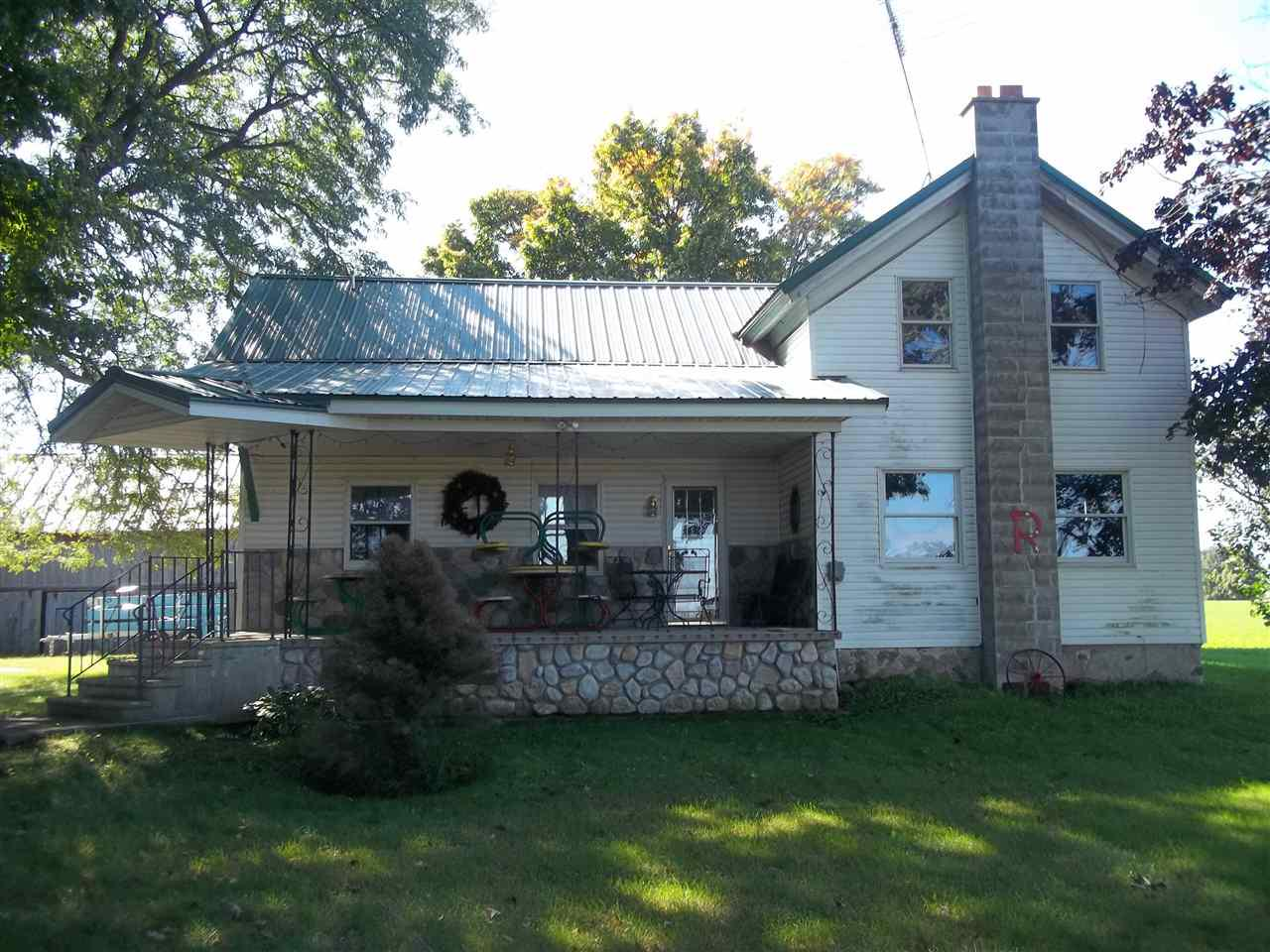 View Single-Family Home For Sale at E9201 SILVER CREEK ROAD, Bear Creek, WI