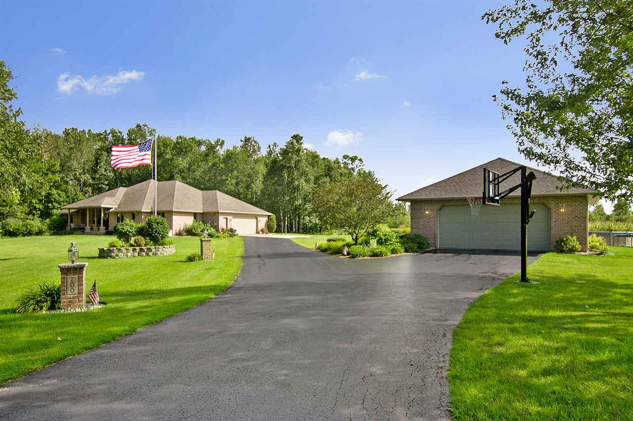 View Single-Family Home For Sale at 700 WOODSTOCK LANE, Pulaski, WI