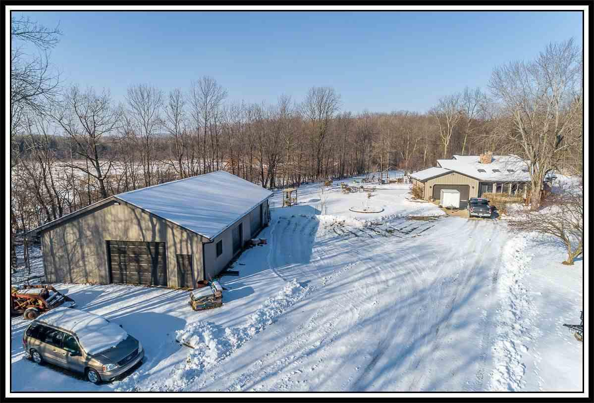 View Single-Family Home For Sale at W7236 WEGE ROAD, Hortonville, WI