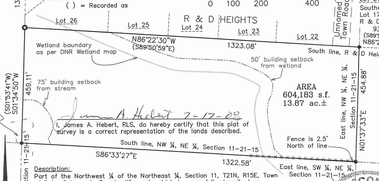 View Vacant Land For Sale at MADELINE LANE, Hortonville, WI