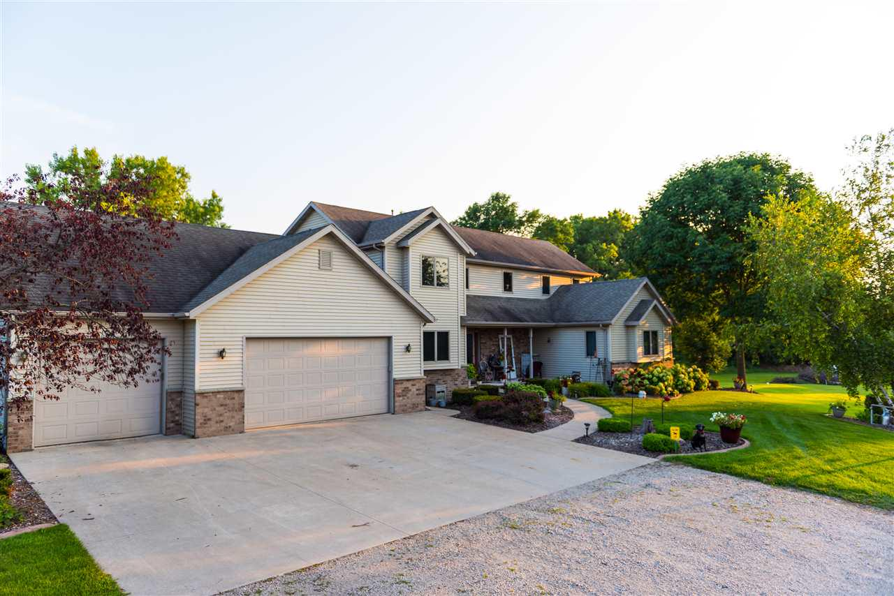 View Single-Family Home For Sale at W7201 WEGE ROAD, Hortonville, WI