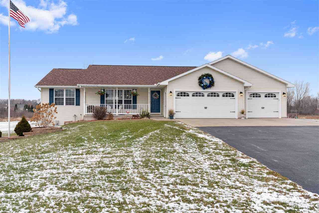 View Single-Family Home For Sale at 6518 REIM ROAD, Abrams, WI