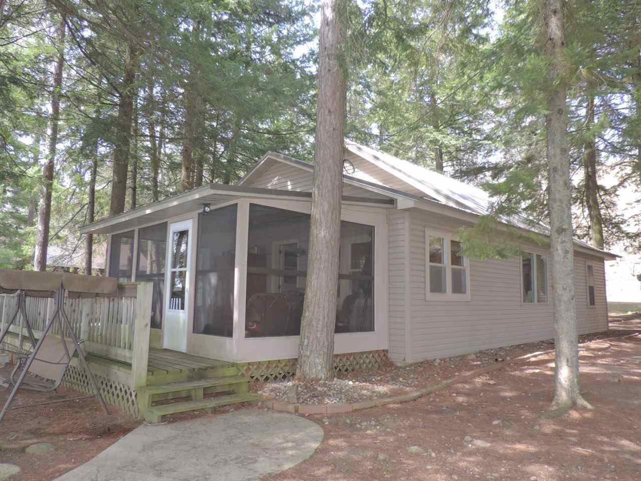 View Single-Family Home For Sale at 16410 ROCKY HILL LANE, Mountain, WI