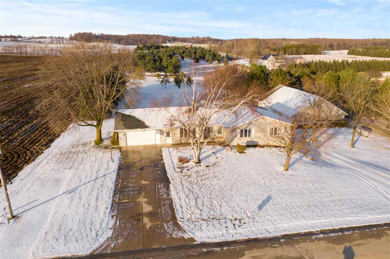 View Single-Family Home For Sale at E2282 HILL ROAD, Luxemburg, WI