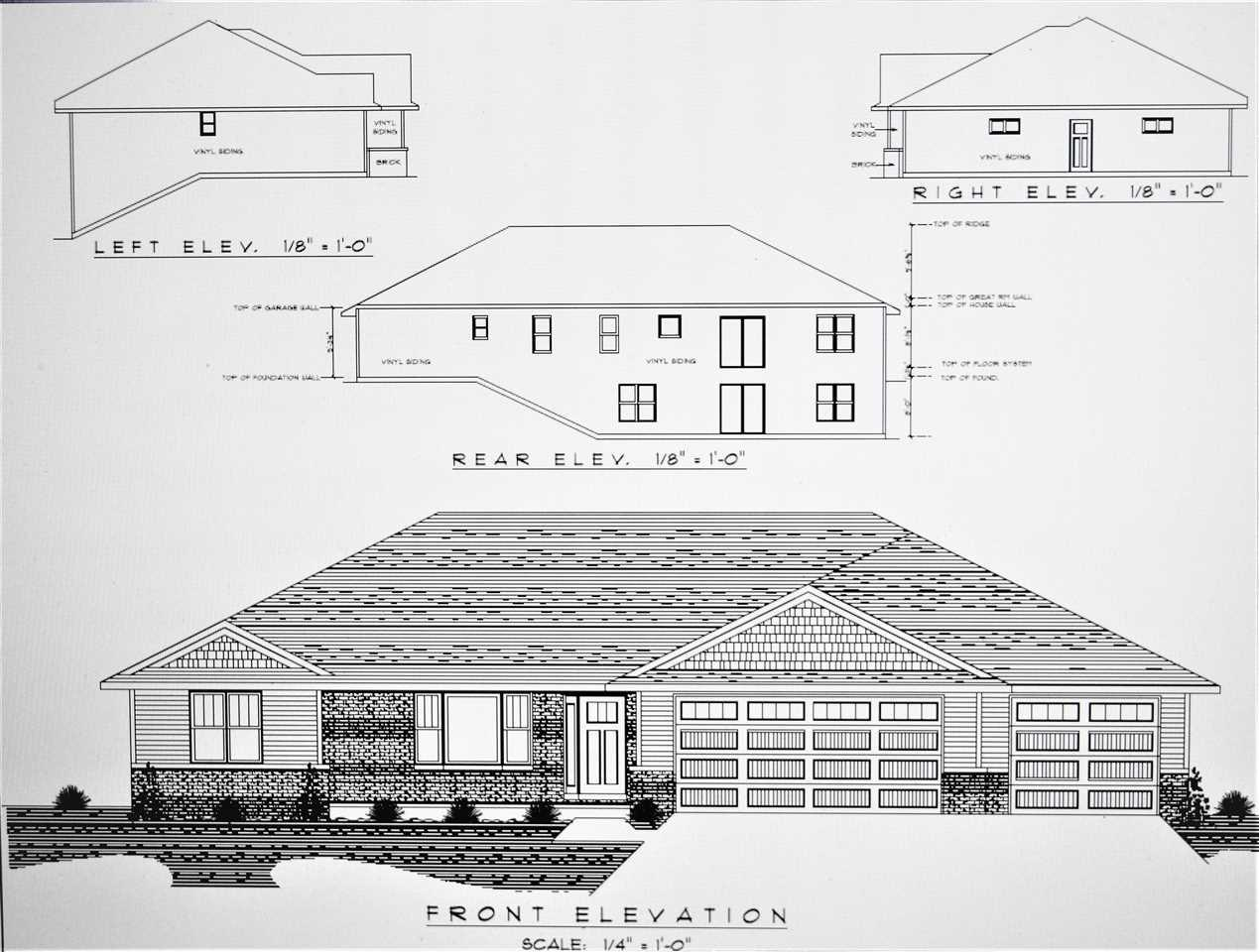View Single-Family Home For Sale at 1745 STEINER LANE, Green Bay, WI