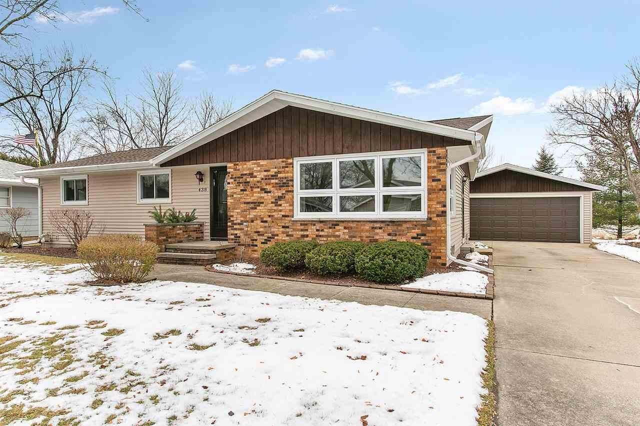 View Single-Family Home For Sale at 438 JERELYN COURT, Combined Locks, WI