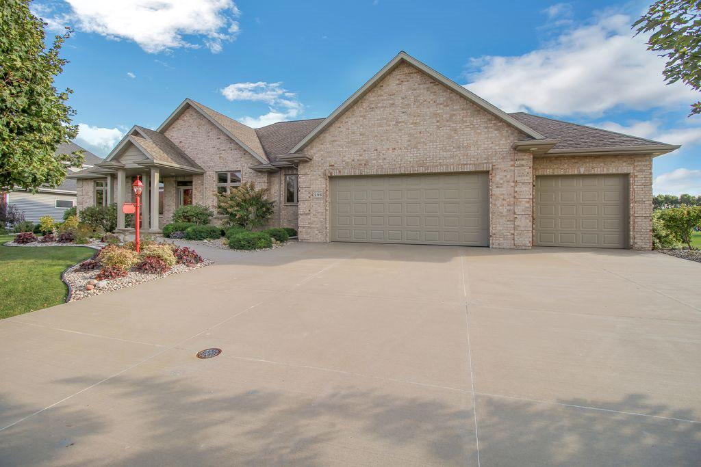 View Single-Family Home For Sale at 296 PETERLYNN DRIVE, Wrightstown, WI