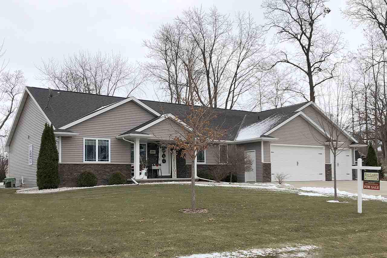 View Single-Family Home For Sale at 3841 SHORE CREST COURT, Green Bay, WI