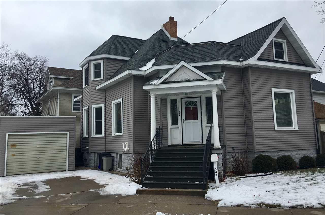 View Single-Family Home For Sale at 336 JEFFERSON STREET, Marinette, WI