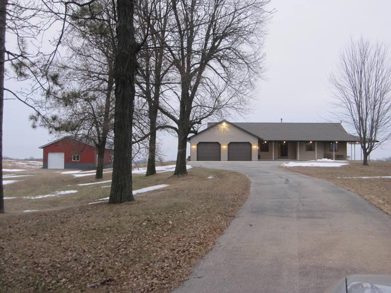 View Single-Family Home For Sale at 13627 Rosecrans Rd, Maribel, WI