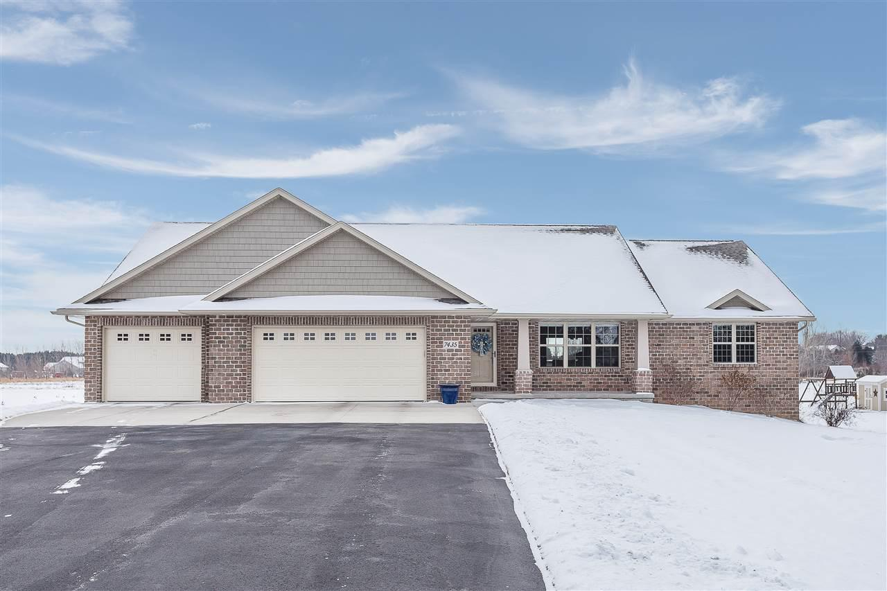 View Single-Family Home For Sale at 7435 HILLVIEW DRIVE, Sobieski, WI