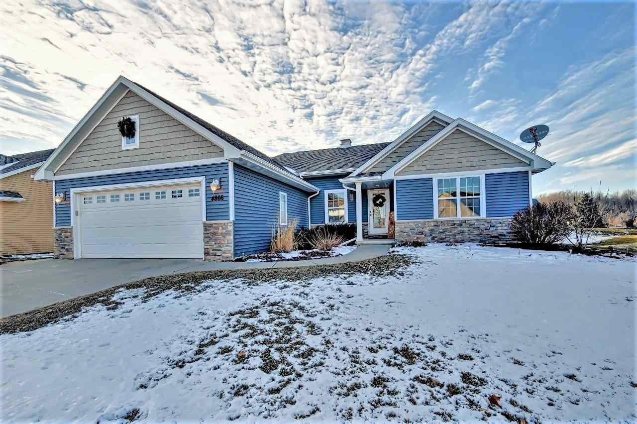 View Single-Family Home For Sale at 4866 ISABELLA CIRCLE, Oneida, WI