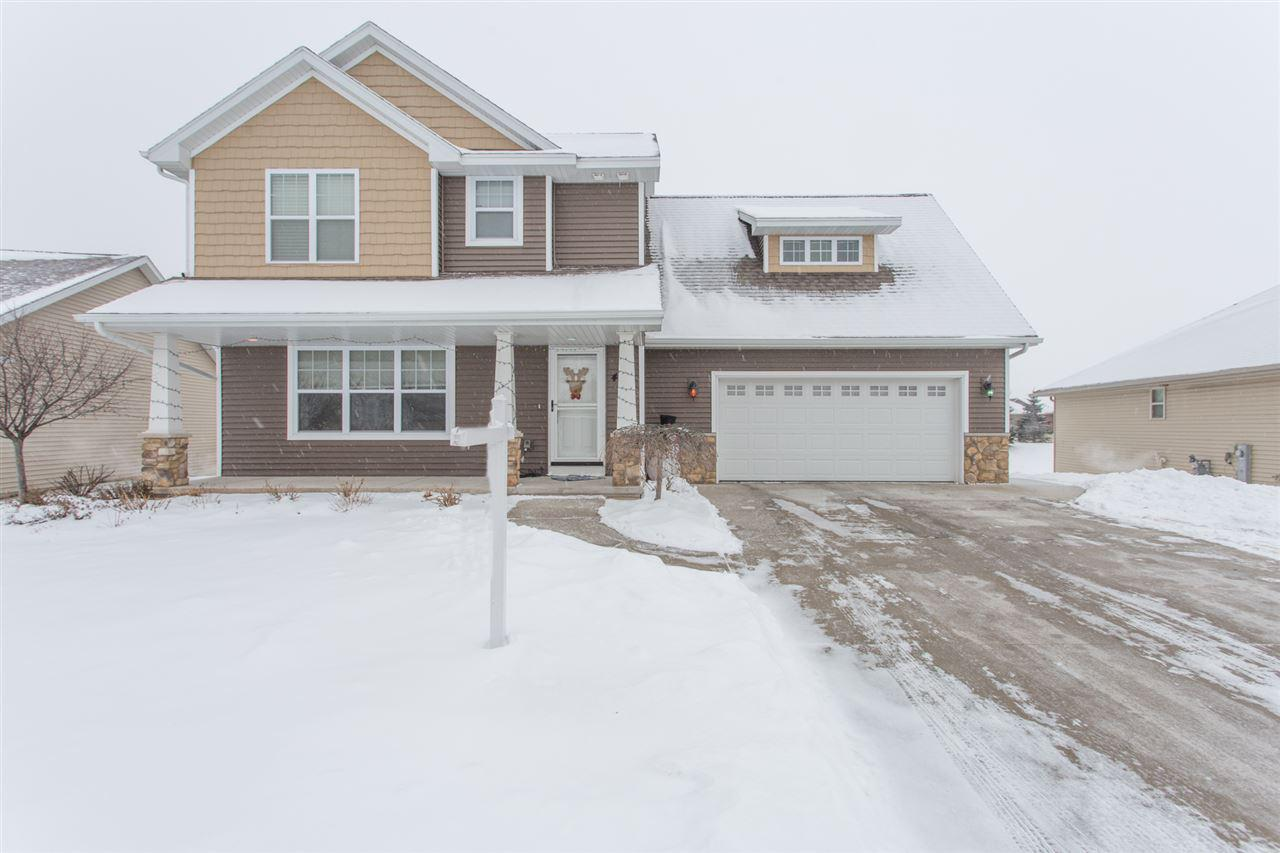 View Single-Family Home For Sale at 4854 ISABELLA CIRCLE, Oneida, WI