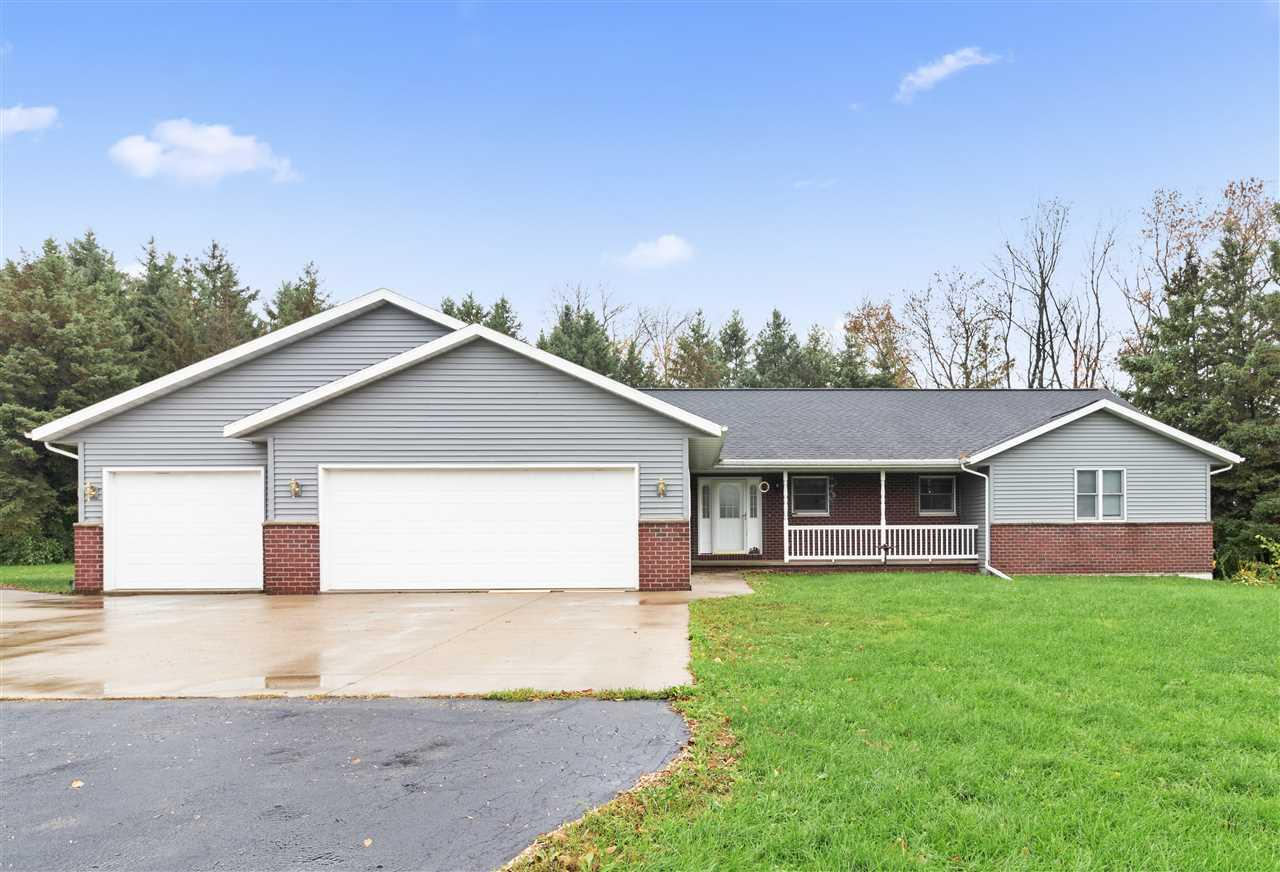 View Single-Family Home For Sale at W9383 GARVEY ROAD, Hortonville, WI