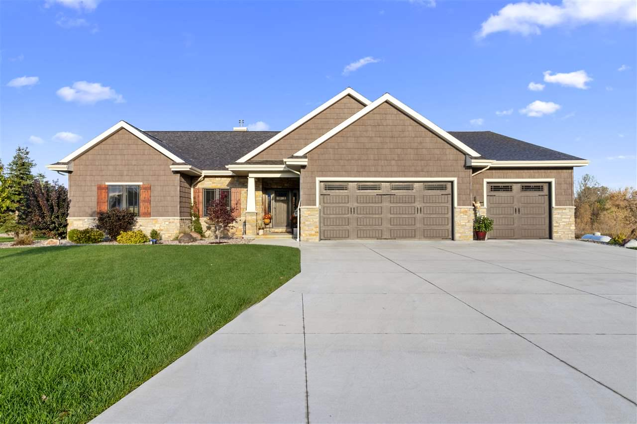 View Single-Family Home For Sale at N3193 TRAILS END COURT, Hortonville, WI