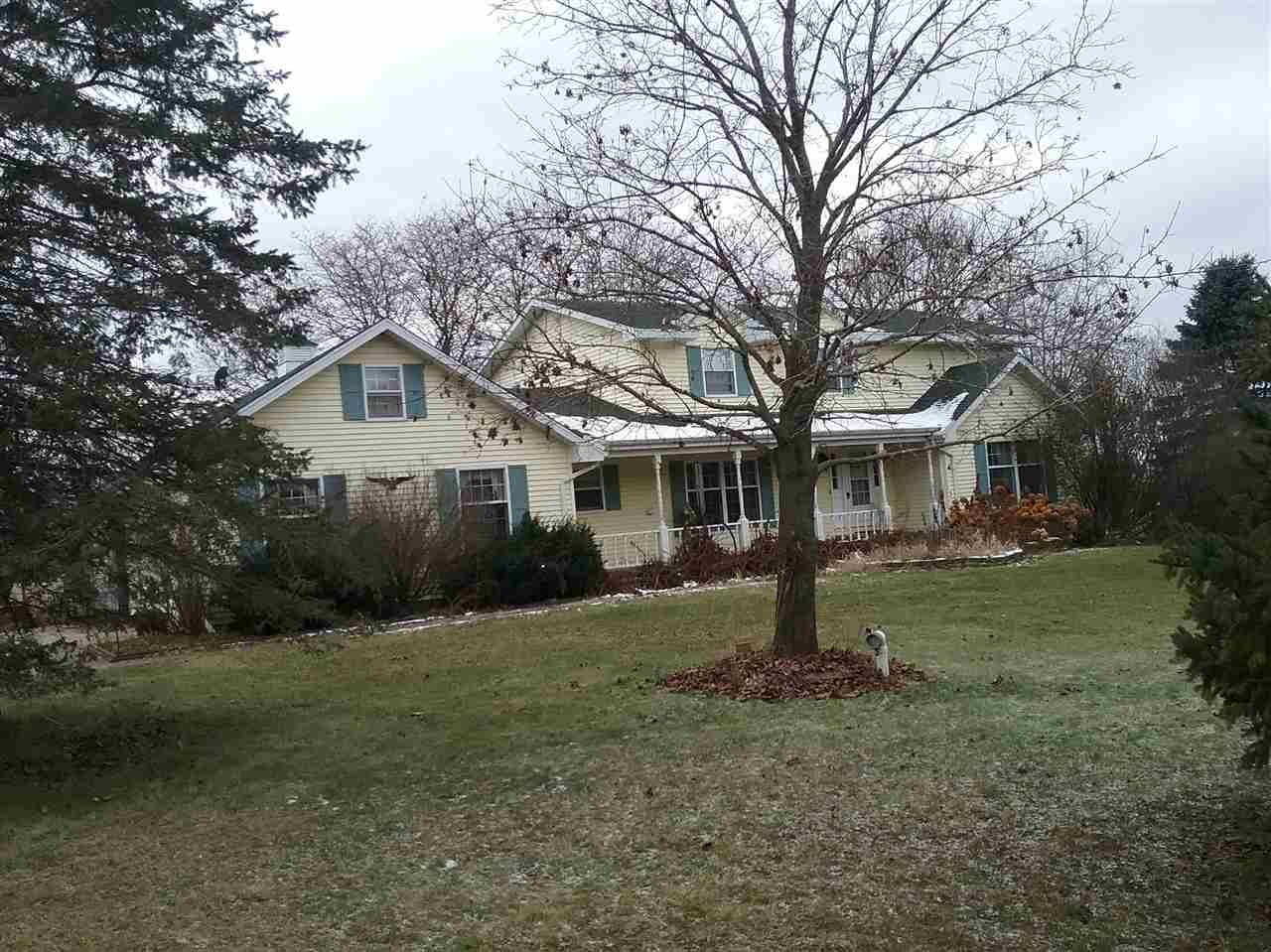 View Single-Family Home For Sale at W4931 BURDICK ROAD, Black Creek, WI