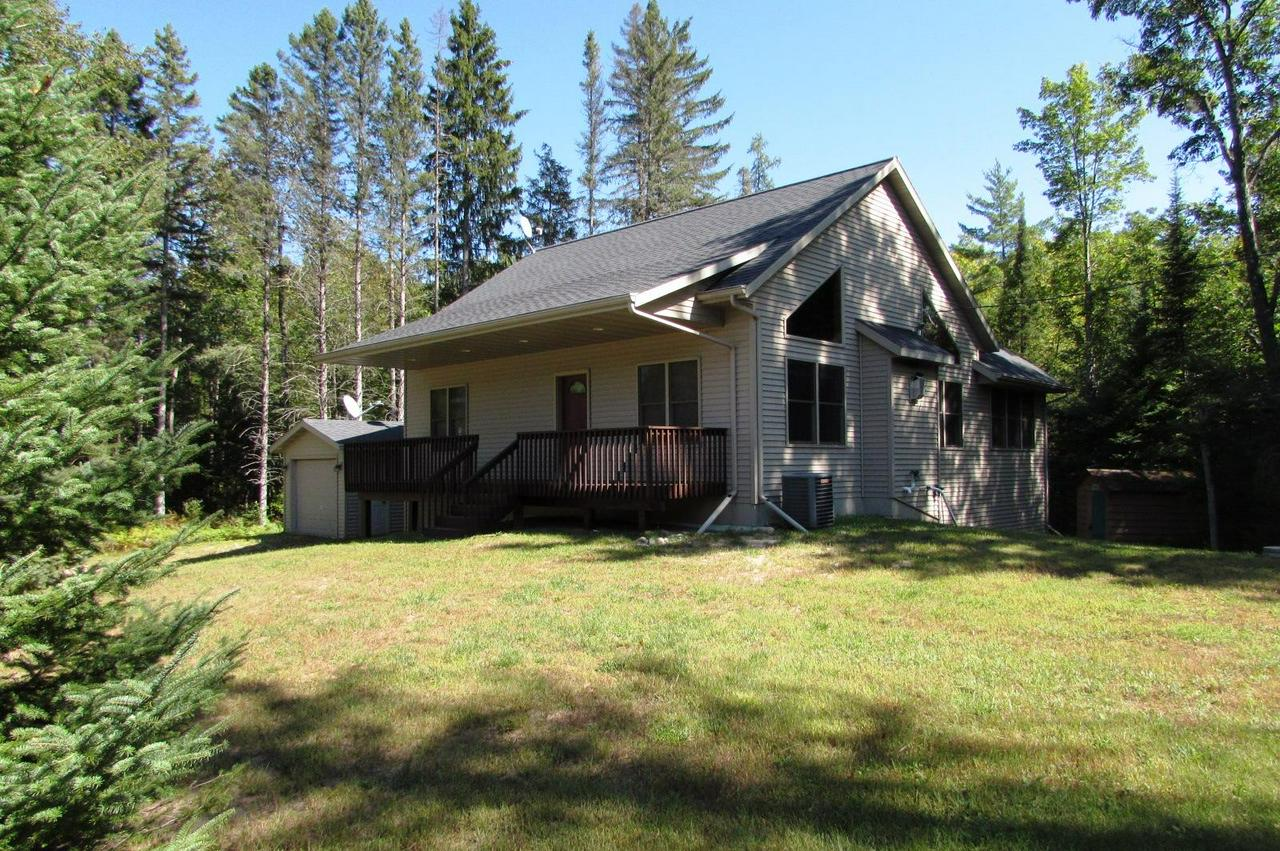 View Single-Family Home For Sale at W4435 County Rd K, Amberg, WI