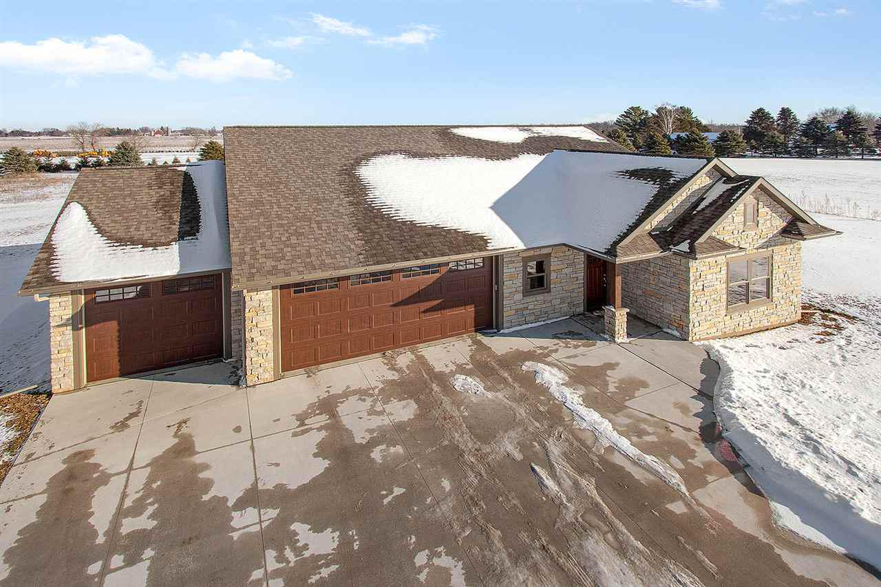View Single-Family Home For Sale at N2542 FOX VIEW DRIVE, Hortonville, WI