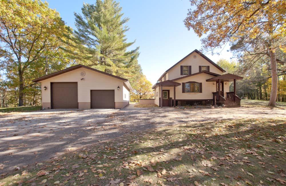 View Single-Family Home For Sale at N7198 Shady Lane Dr, Porterfield, WI