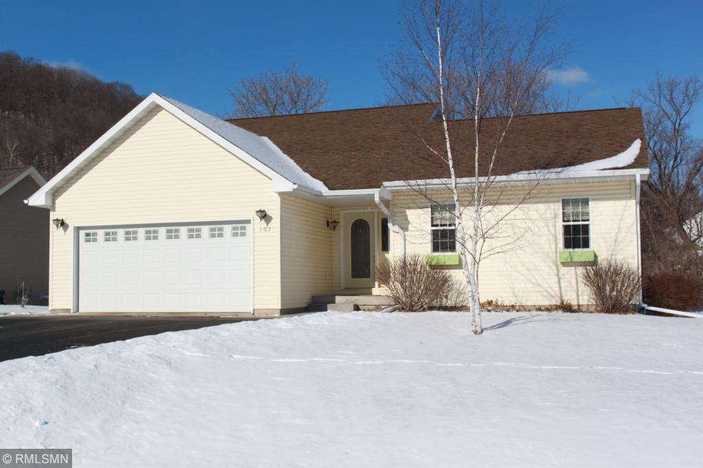 View Single-Family Home For Sale at 102 E Eau Galle Dr, Elmwood, WI