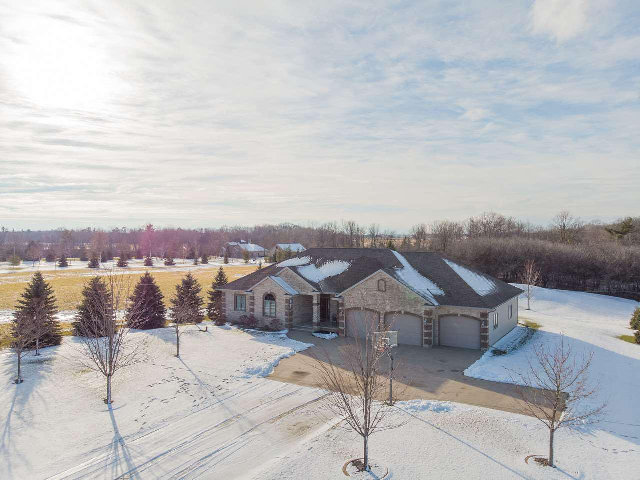 View Single-Family Home For Sale at N1613 OUTAGAMIE ROAD, Kaukauna, WI