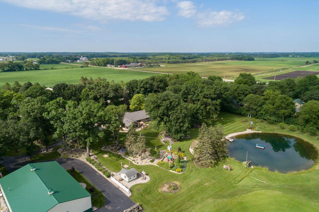 View Single-Family Home For Sale at 24120 Burmeister Rd, Union Grove, WI