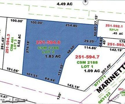 View Commercial For Sale at 3001 Cleveland Ave, Marinette, WI