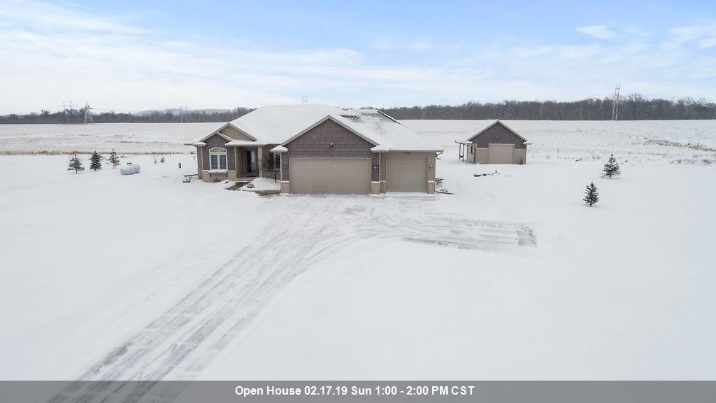 View Single-Family Home For Sale at 6937 ELMRO ROAD, Greenleaf, WI