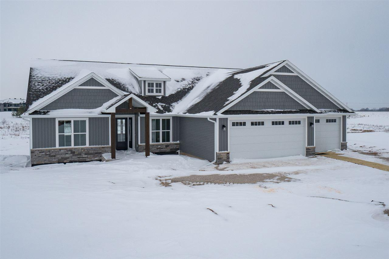 View Single-Family Home For Sale at W6823 DESIGN DRIVE, Greenville, WI