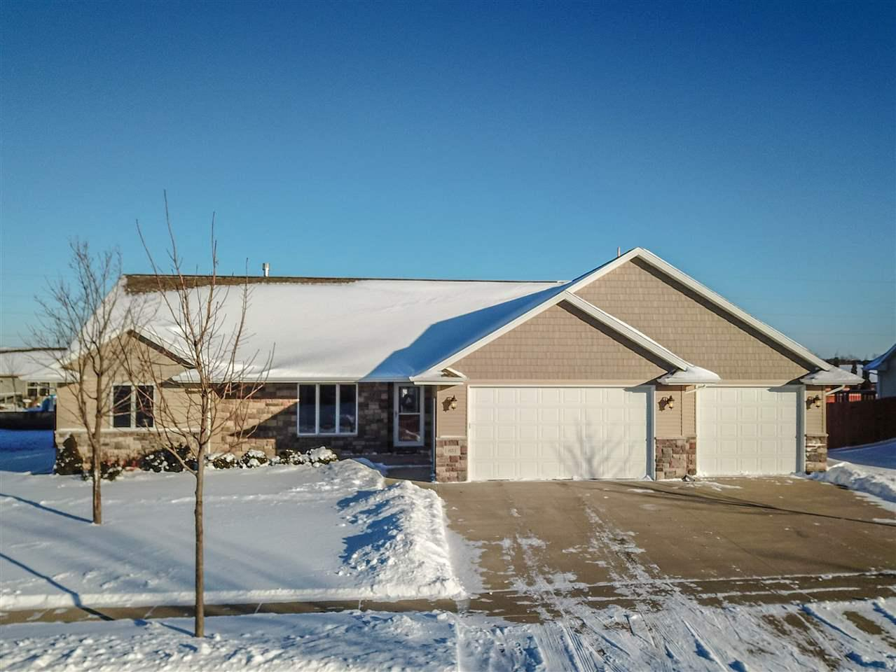 View Single-Family Home For Sale at 651 ARNIE STREET, Combined Locks, WI