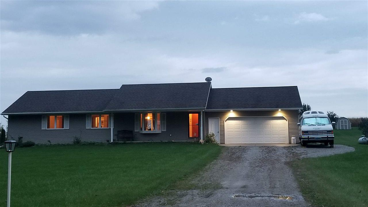 View Single-Family Home For Sale at N4834 MAYFLOWER ROAD, Black Creek, WI