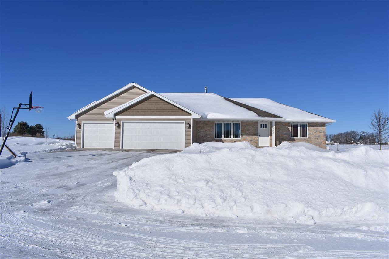 View Single-Family Home For Sale at 5055 ADALBERT LANE, New Franken, WI
