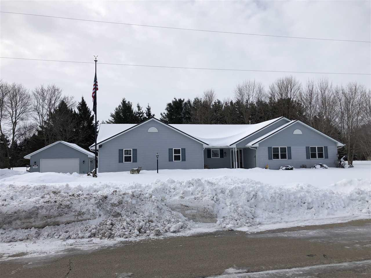 View Single-Family Home For Sale at W923 VAN COURT, Oneida, WI