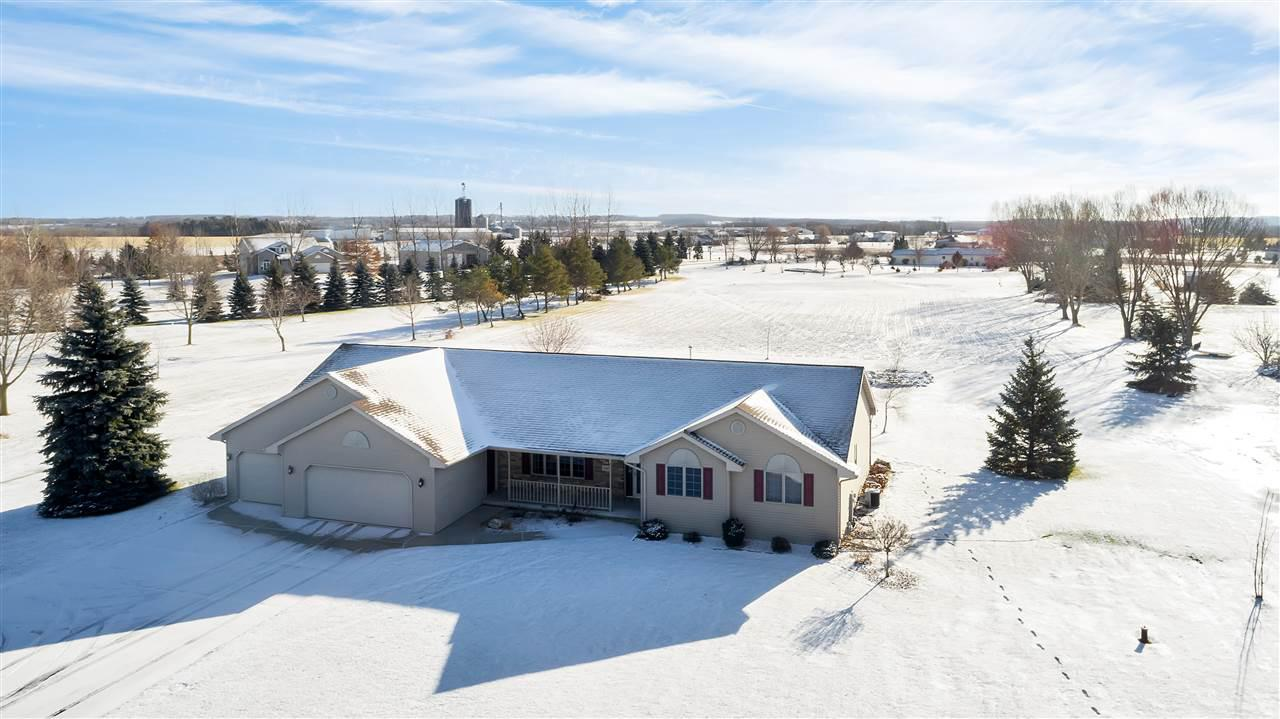 View Single-Family Home For Sale at 3401 OLD MILITARY ROAD, De Pere, WI