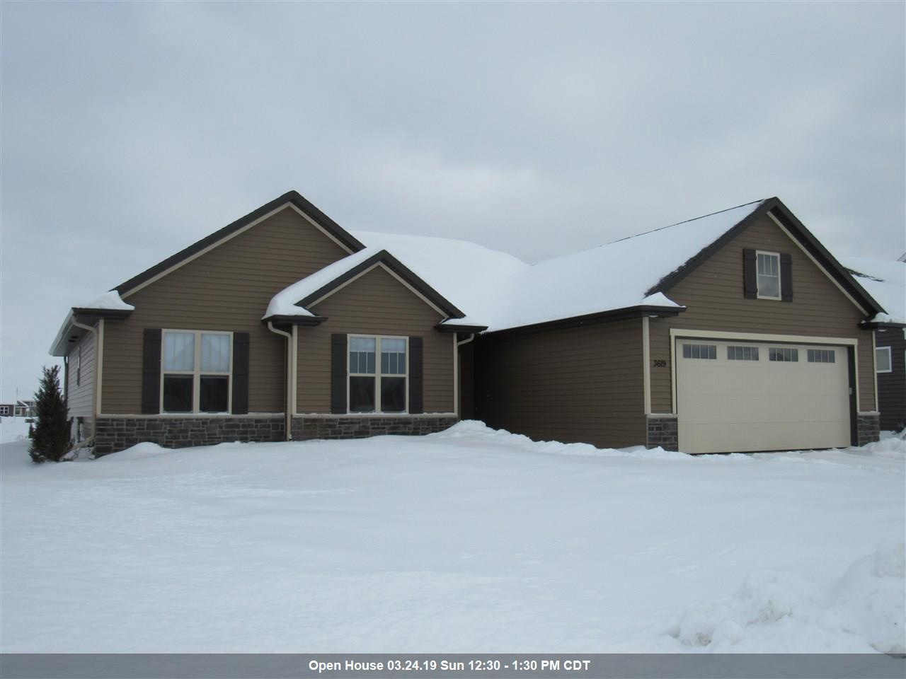View Single-Family Home For Sale at 3619 TULIP TRAIL, Appleton, WI